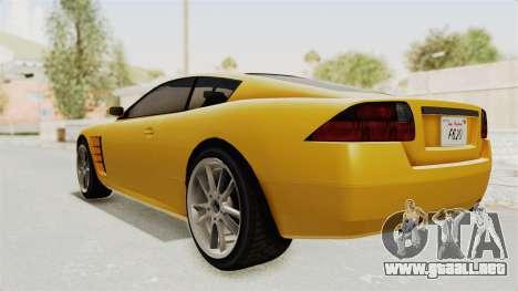 GTA 5 Ocelot F620 SA Lights para la visión correcta GTA San Andreas