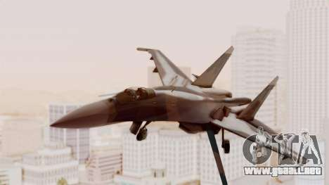 Sukhoi SU-27 Flanker A Ukrainian Air Force para GTA San Andreas