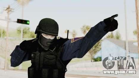 Albania Officer para GTA San Andreas