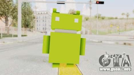 Crossy Road - Android Robot para GTA San Andreas segunda pantalla