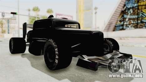 Ford 32 F1 para la visión correcta GTA San Andreas