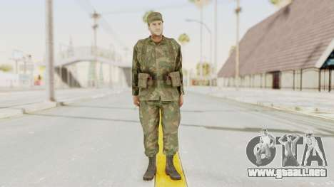 MGSV Ground Zeroes US Soldier Armed v2 para GTA San Andreas segunda pantalla