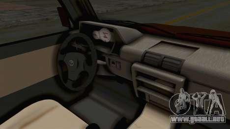 Toyota Kijang Prinz Eugen Itasha para visión interna GTA San Andreas
