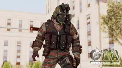 Battery Online Russian Soldier 5 v1 para GTA San Andreas