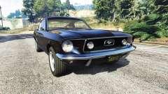 Ford Mustang 1968 v1.1 para GTA 5