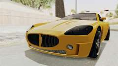 GTA 5 Ocelot F620 SA Lights para GTA San Andreas