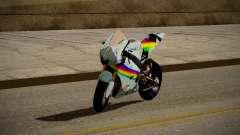 Yamaha YZR M1 2016 Rainbow Dash
