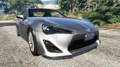 Toyota GT-86 v1.7 para GTA 5