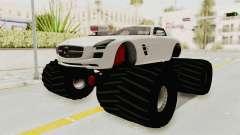 Mercedes-Benz SLS AMG 2010 Monster Truck para GTA San Andreas