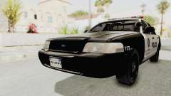 Ford Crown Victoria SFPD para GTA San Andreas