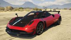2016 Pagani Huayra BC para GTA 5