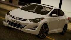 Hyundai ELANTRA 2015 STOCK para GTA San Andreas