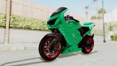 Kawasaki Ninja 250R Race para GTA San Andreas