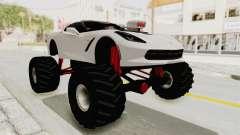 Chevrolet Corvette Stingray C7 Monster Truck para GTA San Andreas