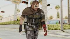 MGSV The Phantom Pain Venom Snake Scarf v7 para GTA San Andreas