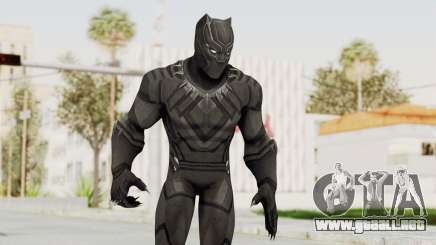 Captain America Civil War - Black Panther para GTA San Andreas