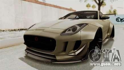 Jaguar F-Type L3D Store Edition para GTA San Andreas