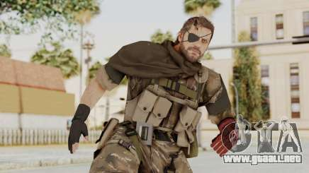 MGSV The Phantom Pain Venom Snake Scarf v9 para GTA San Andreas