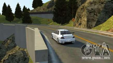 Monumento De La Colina De La Pista para GTA 4