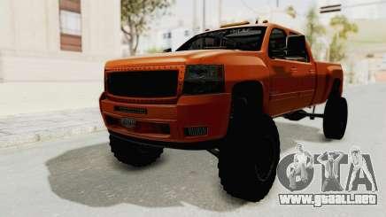 Chevrolet Silverado Long Bed para GTA San Andreas