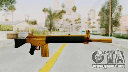 G3A3 Gold para GTA San Andreas