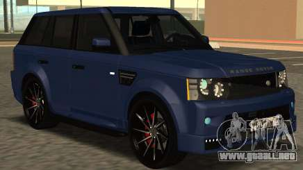 Range Rover Sport Tuning para GTA San Andreas