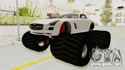 Mercedes-Benz SLS AMG 2010 Monster Truck para GTA San Andreas