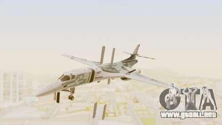 Rockwell B-1B Lancer Tina Sprout Itasha para GTA San Andreas