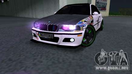 BMW M3 E46 JDM para GTA San Andreas