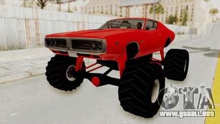 Dodge Charger 1971 Monster Truck para GTA San Andreas