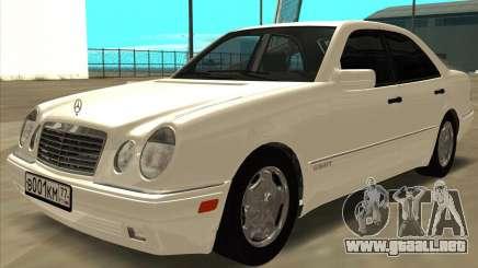 Mercedes-Benz E420 W210 para GTA San Andreas
