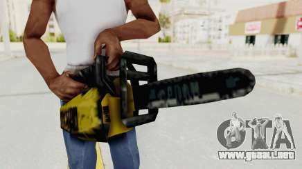 Liberty City Stories Chainsaw para GTA San Andreas