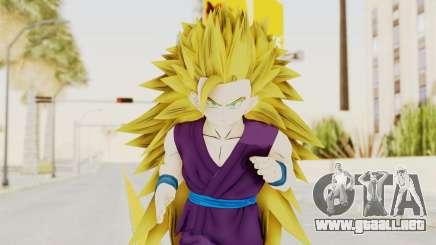 Dragon Ball Xenoverse Gohan Teen DBS SSJ3 v1 para GTA San Andreas