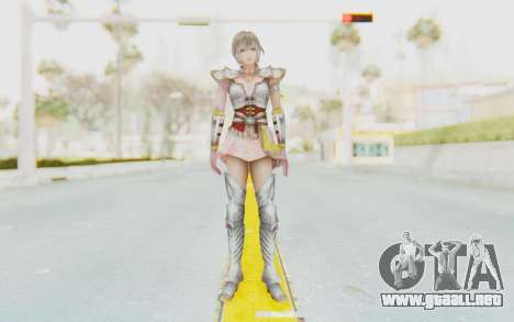 Dynasty Warriors 8: Xtreme Legends - Lu Lingqi 2 para GTA San Andreas segunda pantalla