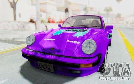 Porsche 911 Turbo 3.2 Coupe (930) 1985 para GTA San Andreas interior