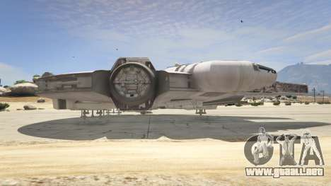 GTA 5 Star Wars Millenium Falcon 5.0 quinta captura de pantalla