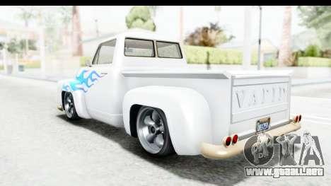 GTA 5 Vapid Slamvan Custom IVF para las ruedas de GTA San Andreas