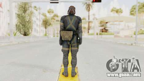 MGSV Phantom Pain Big Boss SV Sneaking Suit v1 para GTA San Andreas tercera pantalla
