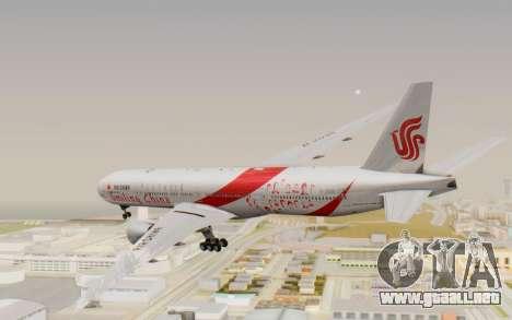 Boeing 777-300ER China Air para la visión correcta GTA San Andreas