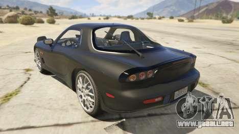 2002 Mazda RX-7 Spirit R Type para GTA 5