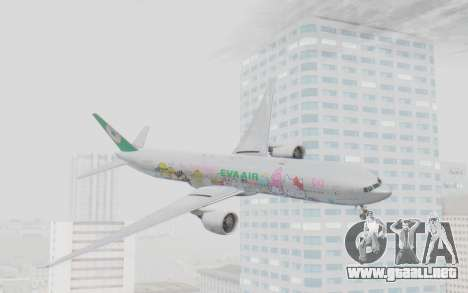 Boeing 777-300ER Eva Air v1 para GTA San Andreas