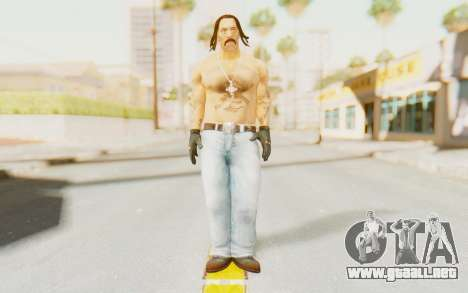 Def Jam Fight For New York - Danny Trejo para GTA San Andreas segunda pantalla