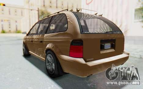 GTA 5 Vapid Minivan para la visión correcta GTA San Andreas