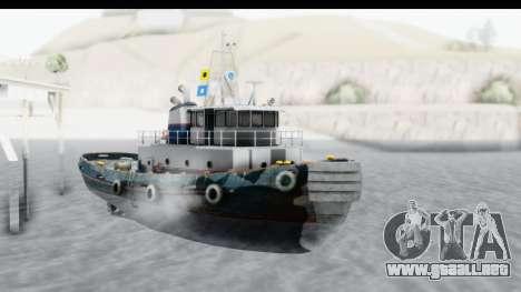 GTA 5 Buckingham Tug Boat v2 para la visión correcta GTA San Andreas