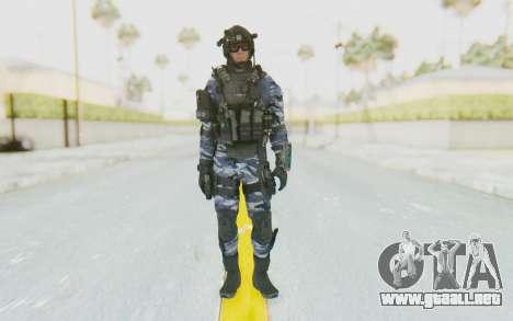 Federation Elite Assault Urban-Navy para GTA San Andreas segunda pantalla