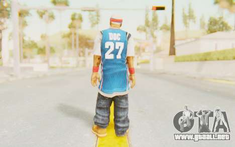 Def Jam Fight For New York - Redman para GTA San Andreas tercera pantalla