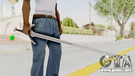 The Witcher 3: Wild Hunt - Sword v1 para GTA San Andreas