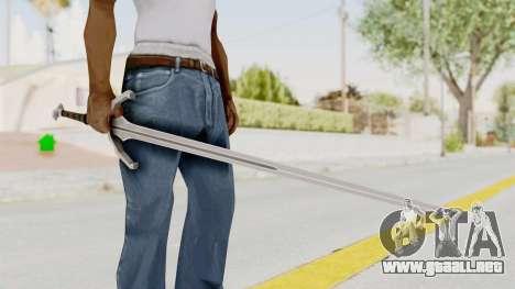 The Witcher 3: Wild Hunt - Sword v1 para GTA San Andreas