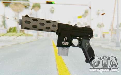 GTA 5 Vom Feuer Machine Pistol para GTA San Andreas