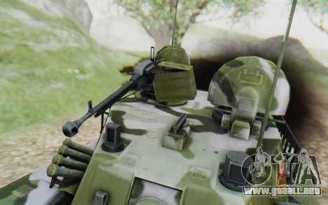 Norinco Type 63 para GTA San Andreas vista hacia atrás
